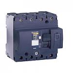 Miniature circuit breaker NG125N, 4P, 125 A, C, 25 kA
