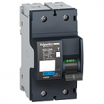 Miniature circuit breaker NG125H, 2P, 10 A, C, 36 kA