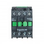 Contactor EasyPact TVS, 3P with (1 N/O) auxiliary contacts, 220V AC coil 60 Hz, 25A