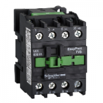 Contactor EasyPact TVS, 3P with (1 N/C) auxiliary contacts, 24V AC coil 50 Hz, 32A