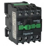 Contactor EasyPact TVS, 3P with (1 N/C) auxiliary contacts, 48V AC coil 50 Hz, 32A