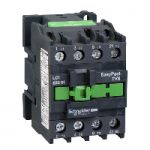 Contactor EasyPact TVS, 3P with (1 N/C) auxiliary contacts, 440V AC coil 50 Hz, 32A