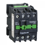 Contactor EasyPact TVS, 3P with (1 N/O) auxiliary contacts, 440V AC coil 60 Hz, 32A