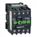 Contactor EasyPact TVS, 3P with (1 N/O) auxiliary contacts, 240V AC coil 50 Hz, 32A
