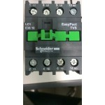 Contactor EasyPact TVS, 3P with (1 N/O) auxiliary contacts, 240V AC coil 50 Hz, 38A