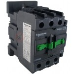 Contactor EasyPact TVS, 3P with (1 N/C + 1 N/O) auxiliary contacts, 440V AC coil 50 Hz, 40A