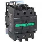 Contactor EasyPact TVS, 3P with (1 N/C + 1 N/O) auxiliary contacts, 220V AC coil 50 Hz, 95A