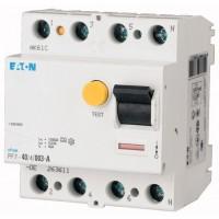 Residual current circuit breaker PF7, 4P, 100 A, 30 mA, A