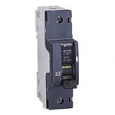 Миниатюрен автоматичен прекъсвач NG125N, 1P, 25A, C, 25kA