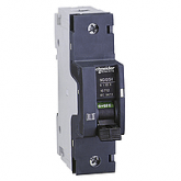 Миниатюрен автоматичен прекъсвач NG125H, 1P, 50A, C, 36kA