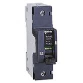 Миниатюрен автоматичен прекъсвач NG125H, 1P, 80A, C, 36kA