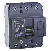 Миниатюрен автоматичен прекъсвач NG125H, 3P, 25A, C, 36kA