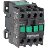 Контактор EasyPact TVS, 3P с (1 N/O) допълнителни контакти, 24V AC 60 Hz, 32A