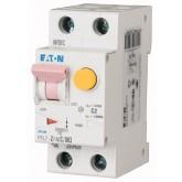 Автоматичен прекъсвач с вградена дефектнотокова защита  PFL7, 1+N, C, 4 A, 10 kA, 30 mA, AC