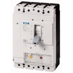 Molded case circuit-breaker LZMN3 4P, 50 kA, 500 A, Adjustable Thermal, Adjustable Instantanious