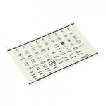 Табелка със символи, Стандартни