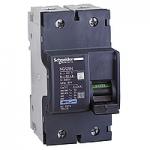 Миниатюрен автоматичен прекъсвач NG125N, 2P, 10A, C, 25kA