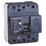 Миниатюрен автоматичен прекъсвач NG125N, 3P, 100A, D, 25kA