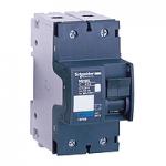 Миниатюрен автоматичен прекъсвач NG125L, 2P, 16A, D, 50kA