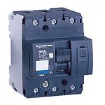 Миниатюрен автоматичен прекъсвач NG125L, 3P, 80A, D, 50kA