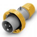 Щепсел OPTIMA IP67, 100-130 V, 125 A, 2+E, 4 h