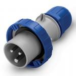Щепсел OPTIMA IP67, 200-250  V, 125 A, 2+E, 6 h