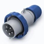 Щепсел OPTIMA IP67, 208-250 V, 63 A, 3+N+E, 9 h