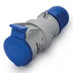 Конектор OPTIMA IP44, 200-250  V, 16 A, 2+E, 6 h