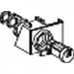 Блокировка NS100/630, с 2 ключалки Ronis 1351B.500