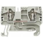 Проходна пружинна клема  WKFN 4 /35mm², Сив