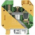Заземителна клема WKN 35 SL / U  35mm²,Жълто-зелена