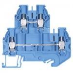 Двуетажна клема WT 4 E, 4 mm², Синя
