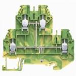 Заземителна клема WT 4 E PE, 4 mm², Жълто-зелена