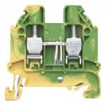 Заземителна клема WT 6 PE, 6 mm², Жълто-зелена