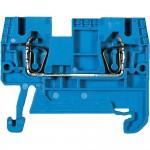 Проходна пружинна клема WKFN 4 / 35, 4mm² ,Синя