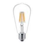CLA LEDBulb ND 7.5-60W E27 WW ST64 CL