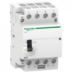 Модулен контактор iCT, ръчно управление 4 N/O, 220/240 V, 40 A
