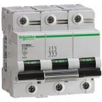 Миниатюрен автоматичен прекъсвач C120H, 3P, 50A, D, 30kA