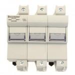 Държач за стопяем предпазител LV, 125 A, AC 690 V, 22 x 58 mm, 3P, IEC