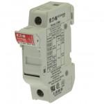 Държач за стопяем предпазител LV, 32 A, AC 690 V, 10 x 38 mm, 1P, UL, IEC, за монтаж на DIN шина