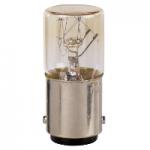 Прозрачна крушка с нажежаема жичка BA 9s 2.6 W, 130 V
