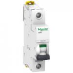 Миниатюрен автоматичен прекъсвач iC60H, 1P, 32 A, D, 10 kA