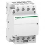 Модулен контактор iCT, ръчно управление 4 N/O, 24 V, 63 A