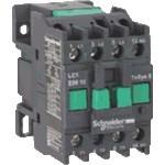 Контактор EasyPact TVS, 3P с (1 N/O) допълнителни контакти, 440V AC 60 Hz, 9A
