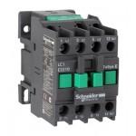 Контактор EasyPact TVS, 3P с (1 N/O) допълнителни контакти, 24V AC 50 Hz, 32A