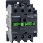 Контактор EasyPact TVS, 3P с (1 N/C + 1 N/O) допълнителни контакти, 380V AC 50 Hz, 40A