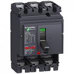 Прекъсвач без защита Compact NSX100B 3P, 25 kA