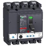 Автоматичен прекъсвач, лят корпус NSX100 Micrologic 2.2 (LSoI защита), 100 A, 4P, H