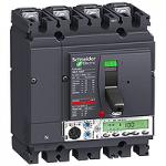 Автоматичен прекъсвач, лят корпус NSX100 Micrologic 5.2 A (LSI защита, амметър), 40 A, 4P, B