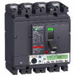Автоматичен прекъсвач, лят корпус NSX100 Micrologic 5.2 A (LSI защита, амметър), 100 A, 4P, N